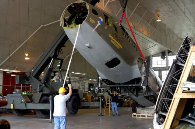 B-17F - Memphis Belle goes to AF Museum Picture