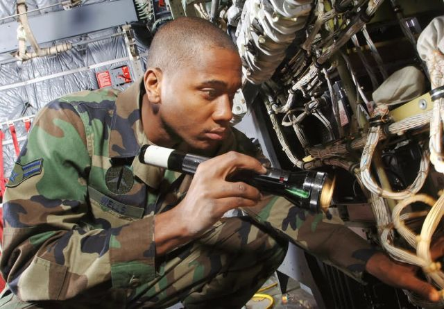 C-130 Hercules - Avionics check Picture