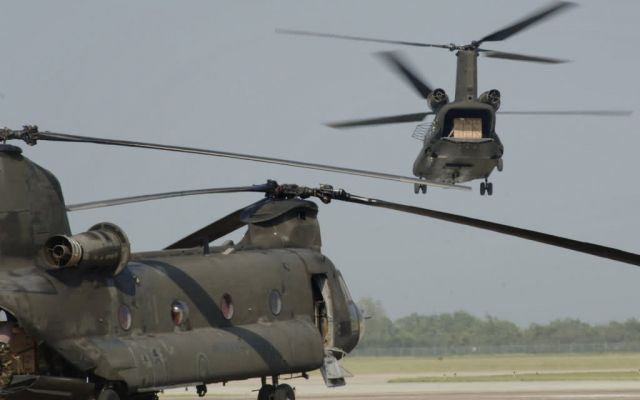 CH-47 Chinook - Meals Ready to Eat Picture