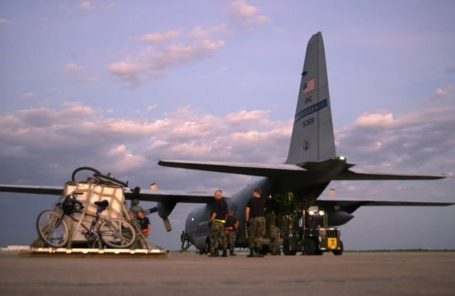 C-130 Hercules - Day's done Picture