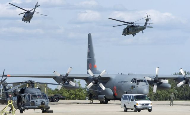 HH-60 Pave Hawk - Search and rescue missions underway Picture