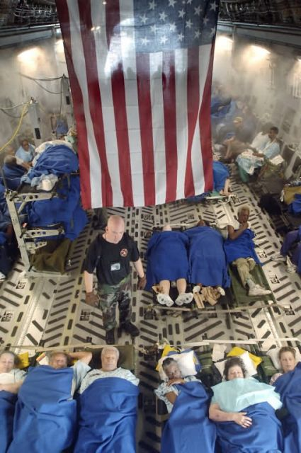 C-17 Globemaster III - Evacuation Picture