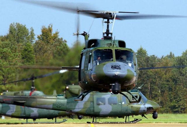 UH-1N - AFSPC helicopter deployment aids Hurricane Katrina relief efforts Picture