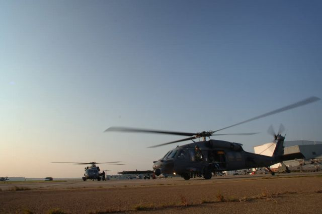 HH-60G - Airmen 'pave' way for help Picture