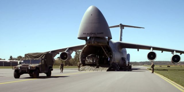 C-5 Galaxy - More relief on the way Picture