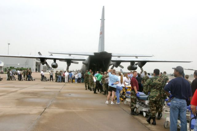 C-130 Hercules - Hurricane relief mission Picture