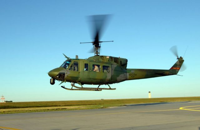 UH-1N - Minot helicopter flight supports hurricane relief efforts Picture
