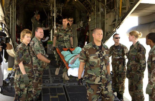 C-130 Hercules - Evacuation Picture