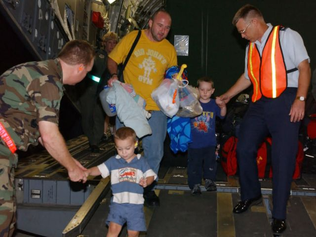 C-17 Globemaster III - Hurricane Katrina medical evacuations Picture