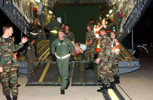 C-17 - Hurricane Katrina medical evacuations Picture