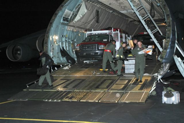 C-5 Galaxy - AMC answering humanitarian call in aftermath of Katrina Picture