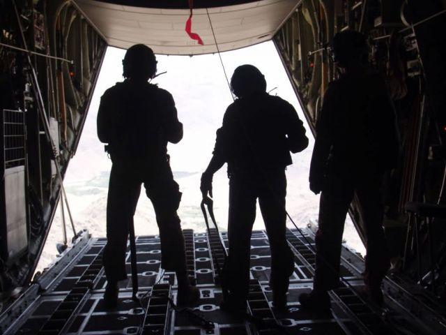 C-130 Hercules - North Carolina guardsmen make combat airdrop in Afghanistan Picture