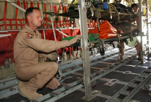 C-17 - Total force team saves lives Picture