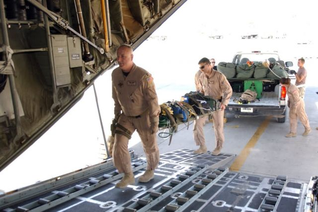 C-130 - Total force team saves lives Picture