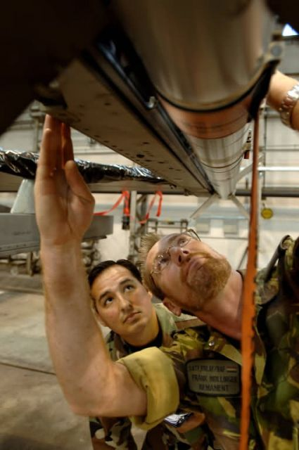 F-16 - Munitions troops help give Dutch fighters a strike punch Picture
