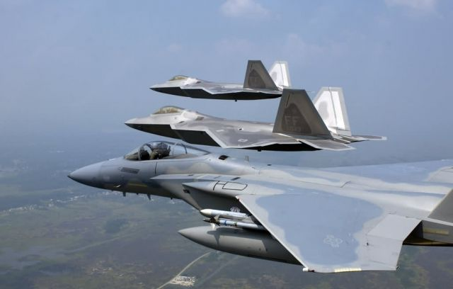 F/A-22 Raptors - Raptor presence Picture