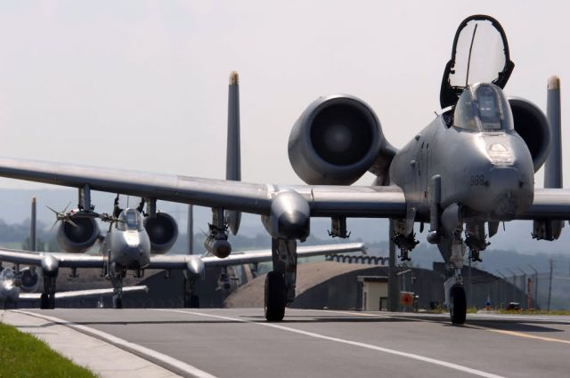 A-10 Thunderbolt II - Training keeping Spangdahlem 'Warthogs' ready to deploy Picture