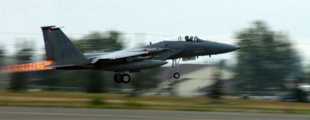 F-15 Eagle - Air surveillance Picture