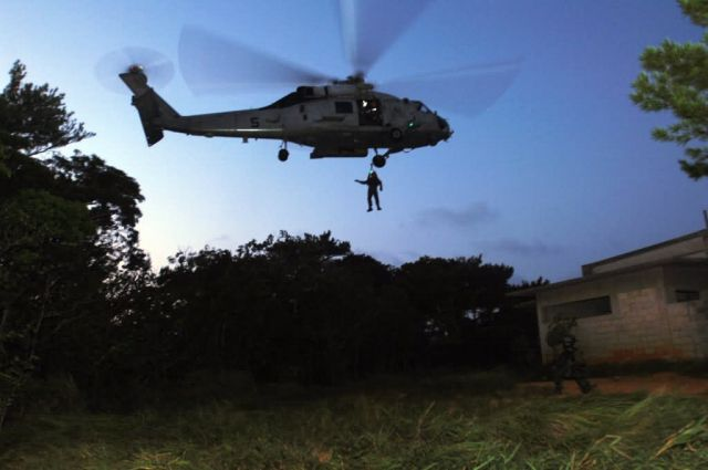 HH-60G - Airmen join Sailors, Marines for JASEX 05 Picture