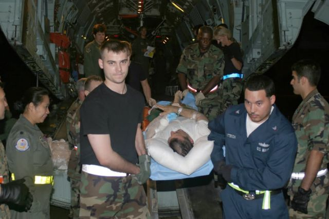 C-141 - Team effort brings America's wounded troops home Picture
