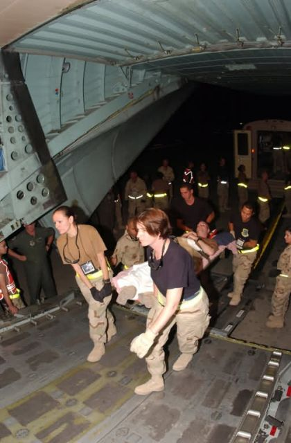 C-130 Hercules - Aeromedical evacuation process key to saving lives in Iraq Picture