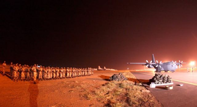 C-130 - USAFE helps Rwandan troops deploy to Darfur Picture