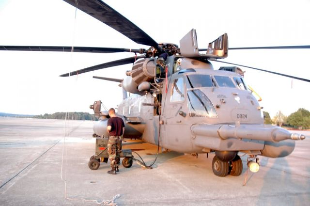 MH-53M - Arkansas 'paves' way for visitors Picture