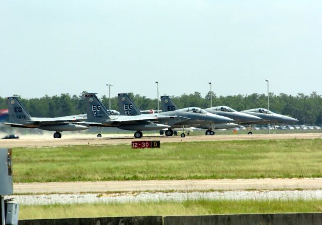 F-15s - Taking flight Picture