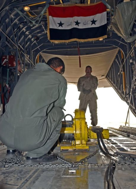 C-130s - Airmen teach C-130 ops to Iraqi students, learn about sacrifice Picture