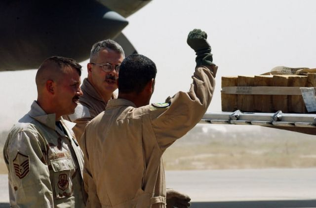 C-130 Hercules - Airmen teach C-130 ops to Iraqi students, learn about sacrifice Picture