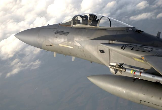 F-15Sky patrol Picture