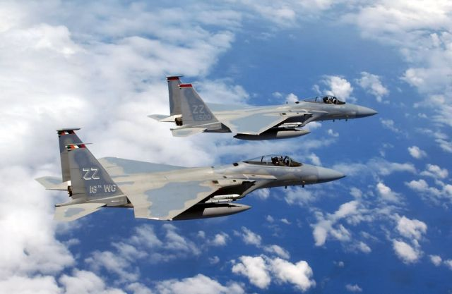 F-15 Eagles - Soaring Eagles Picture