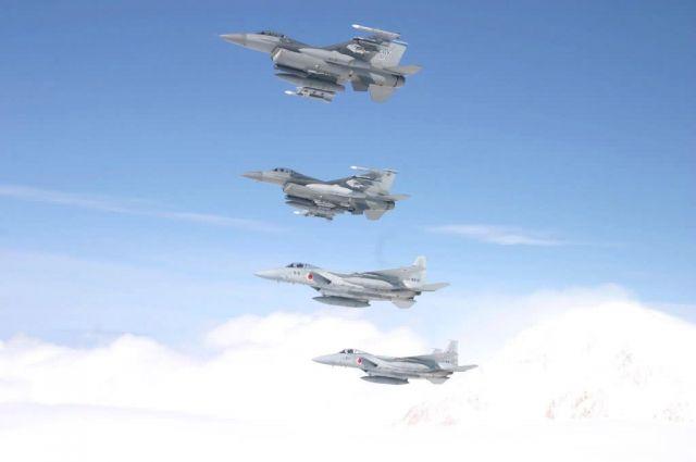 F-16 - Cooperative flight Picture