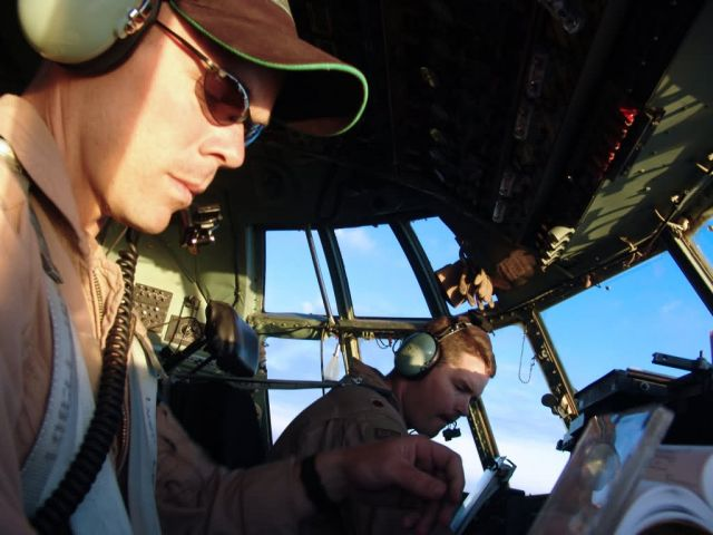 C-130 Hercules - Hercules supply mission Picture