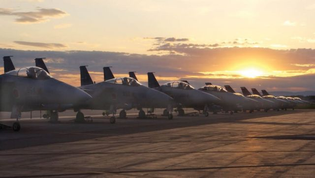 F-15s - Cooperative Cope Thunder kicks off Picture