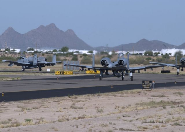 A-10 Thunderbolt IIs - Deploying thunder Picture