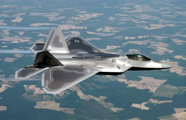 F/A-22 Raptor - Raptor in flight Picture
