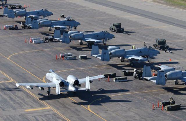A-10 Thunderbolt IIs - Lotsa bolts Picture