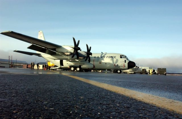 WC-130J - Hurricane Hunters fly first operation WC-130J mission Picture