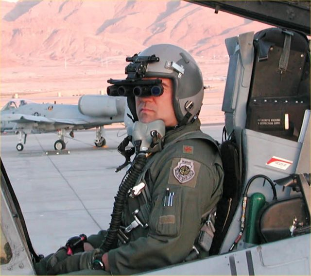 A-10 Thunderbolt II. - Special operations Airmen receive panoramic night-vision goggles Picture