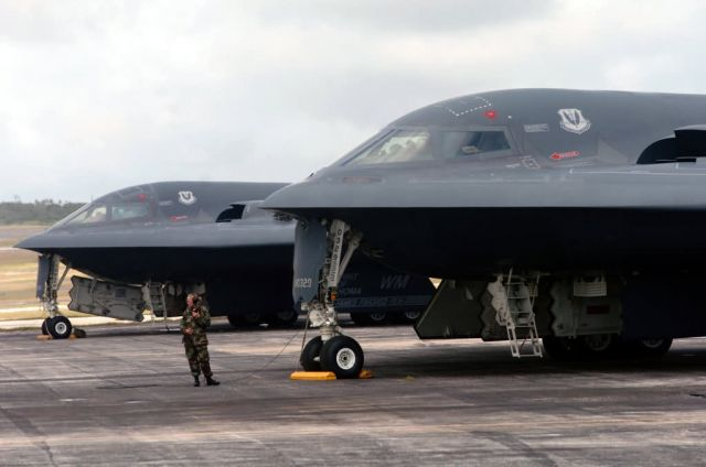 B-2 - Airmen help improve B-2 aircraft maintenance in Guam Picture