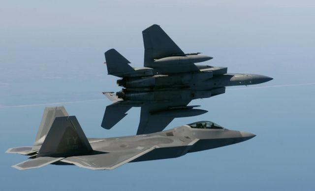 F-15 Eagle - Birds of a feather ... Picture