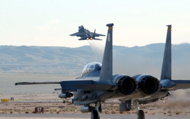 F-15 Eagle - Into the wild blue yonder Picture