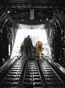 C-130 Hercules - C-130 crew delivers cargo, morale to remote locations Picture