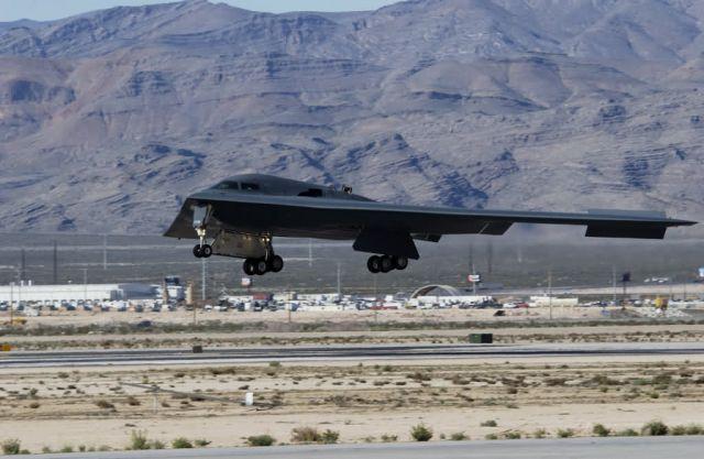 B-2 - Spirit landing Picture