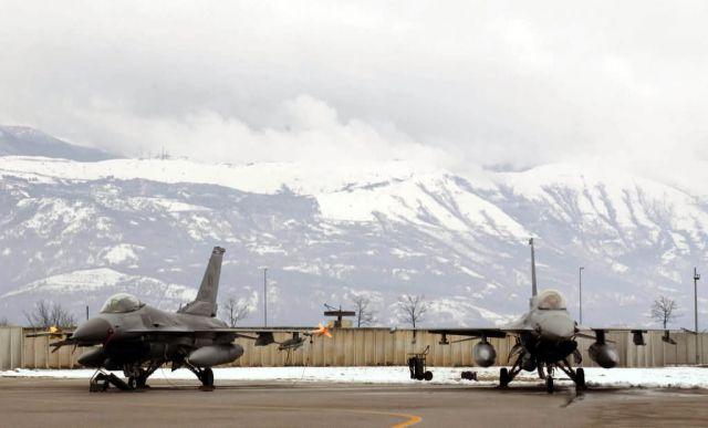 F-16 - Frozen Falcons Picture