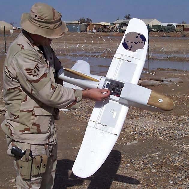 Desert Hawk - Desert Hawk UAV patrols Tallil Picture