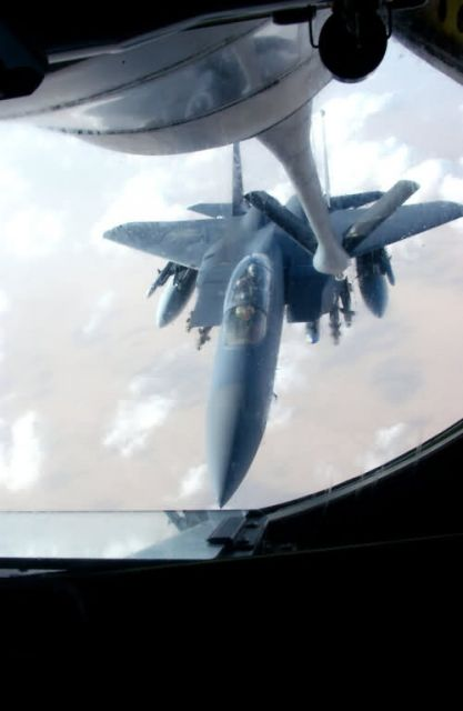 KC-135 - Boom operators provide fuel for warfighters Picture