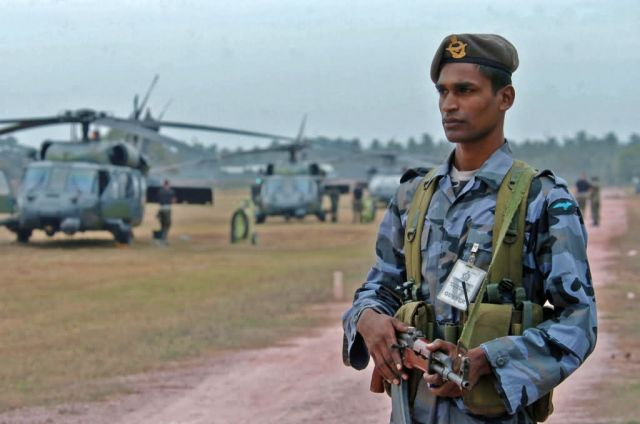HH-60G Pave Hawk - Support in Sri Lanka Picture