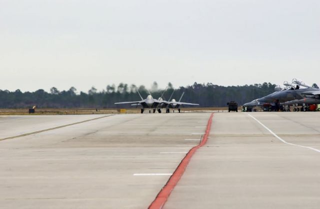 F/A-22 Raptors - More Raptors have landed Picture